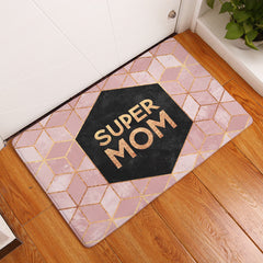 Super Mom Inspirational Mat