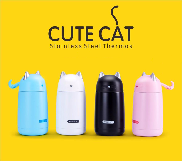 Cat Insulated Thermos Mugs - Tea & Coffee - wantalo.com