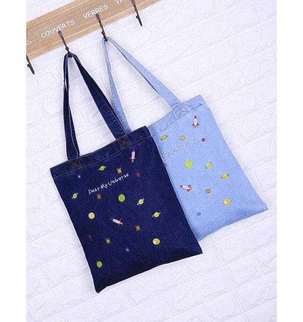 Dear Universe Shopping Bag-Bags-Wantalo