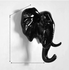 Animals Wall Hooks - Black-Storage Solutions-Wantalo