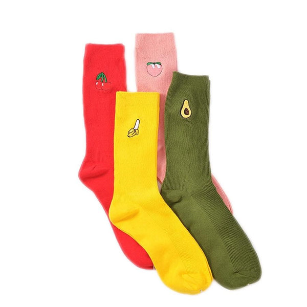 Cute Fruity Women Socks-Socks-Wantalo