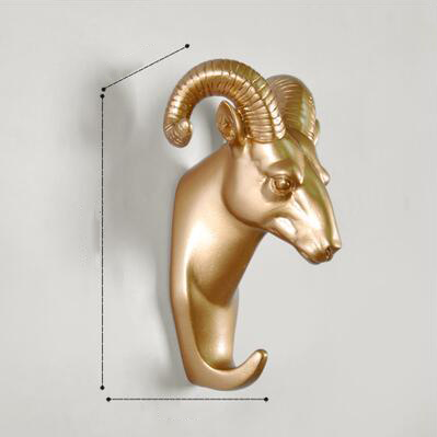 Animals Wall Hooks - Gold-Storage Solutions-Wantalo