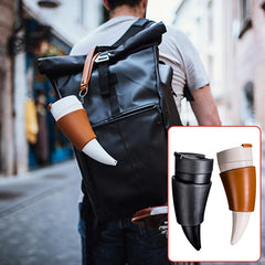 Viking Horn Travel Mug