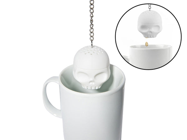 Skull Tea Infuser-Tea & Coffee-Wantalo