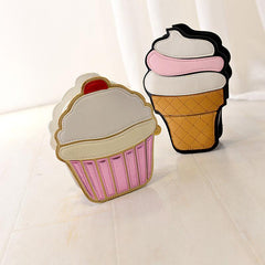 Ice Cream and Cupcake Shoulder Bags