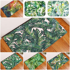 Green Leaves Mats