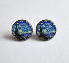 Starry Night, Earrings