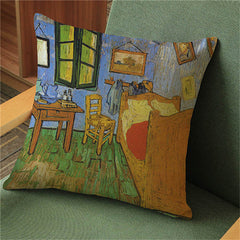 The Bedroom, Decorative Pillowcase