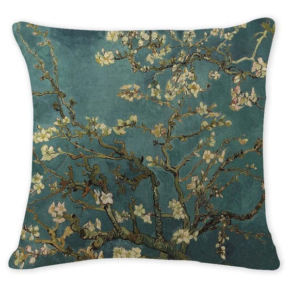Almond Blossoms, Decorative Pillowcase-Pillows-Wantalo