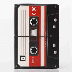 Music Tape Passport Cover