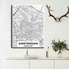 Amsterdam's Map Painting