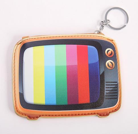 Old Tv Coin Purse-Wallets-Wantalo