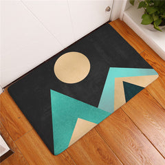 Geometric Mountain Mats