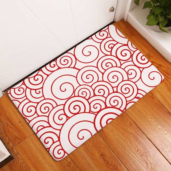 Japanese Patterns Door Mats-Mats-Wantalo