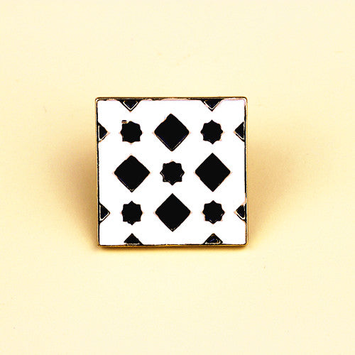 Traditional Tiles Enamel Pins-Pins & Patches-Wantalo