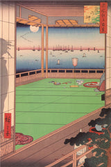 Ukiyo-e Paintings: Moon Viewing