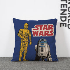 Cartoon Star Wars Pillowcase