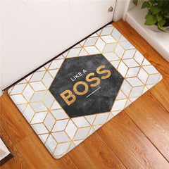 Like a Boss Inspirational Mat