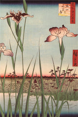 Ukiyo-e Paintings: Horikiri Iris Garden