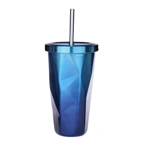 Colorful Squared Travel Mug-Tea & Coffee-Wantalo