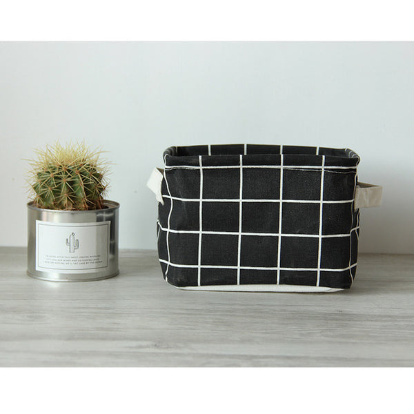Elegant and Minimal Fabric Storage Baskets-Storage Solutions-Wantalo