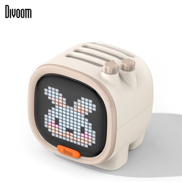 Pixel Art LED Bluetooth Speaker, Alarm clock-electronics-Wantalo