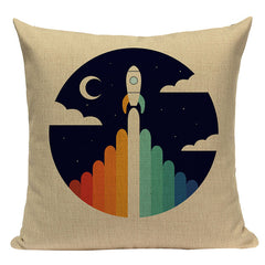 Space Shuttle Pillowcase