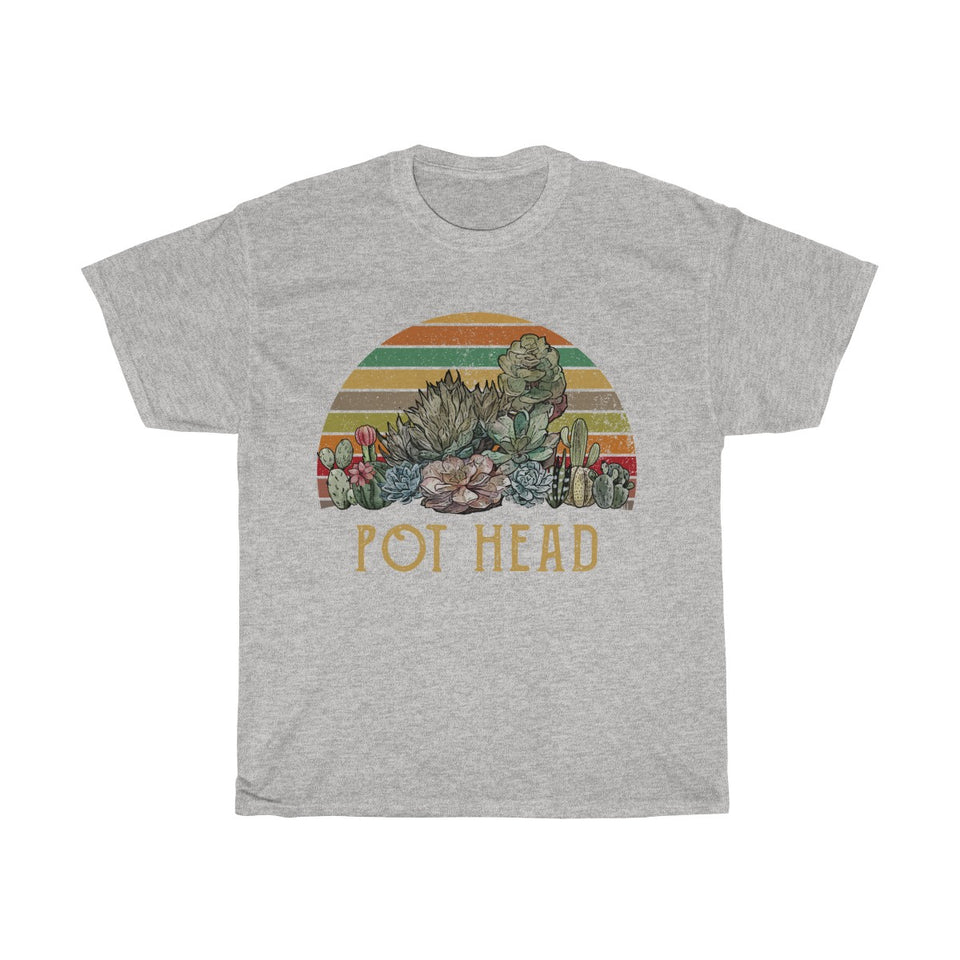 Copy of Woman Heavy Cotton Tee For Succulent Lovers