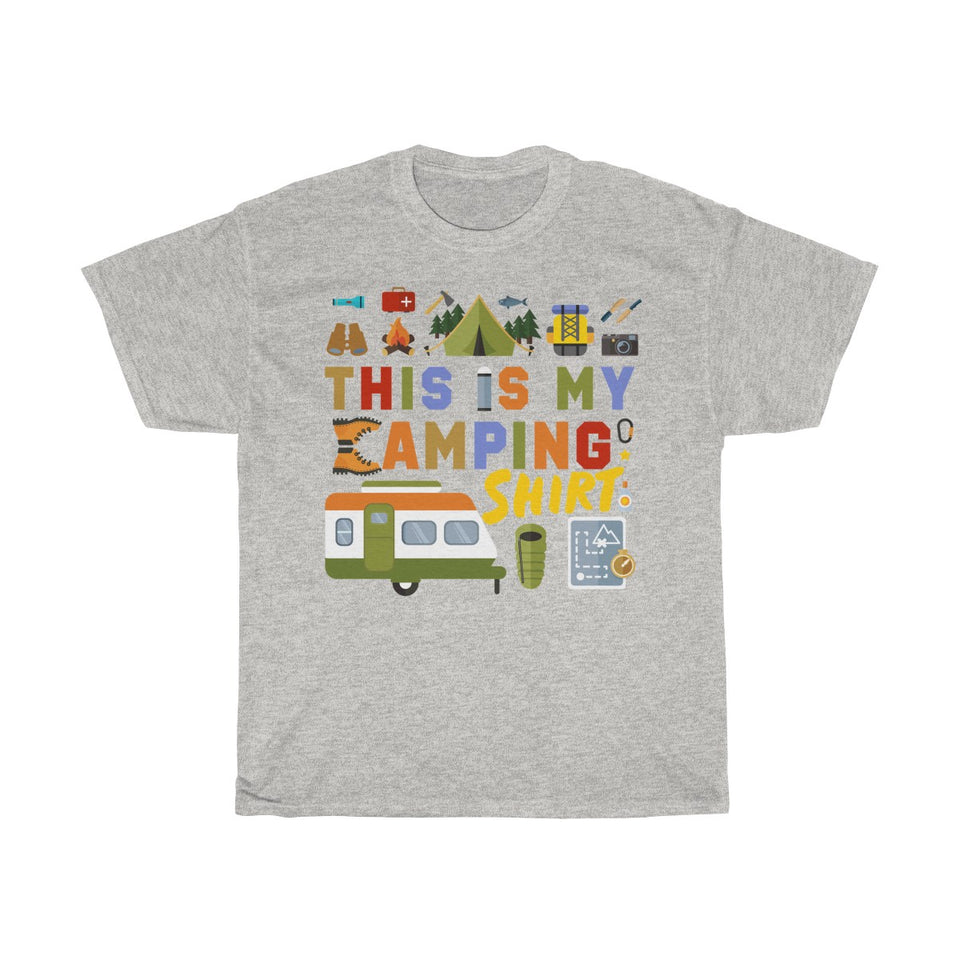 This is my camping shirt Tshirt