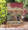 Dictionary Who Loves Gardening Dogs Garden Flag