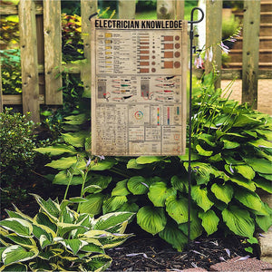 Electrician Knowledge - Garden Flag