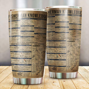 Fisherman Knowledge Tumbler