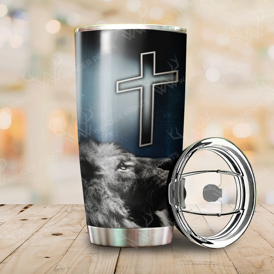 Lion Jesus Is My Everything Tumbler