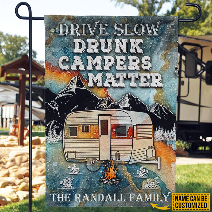 Camping Outdoor signs Drunken A-Holes RV