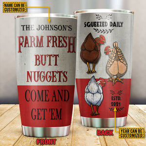 Personalized Chicken Nuggets Come Customized Tumbler