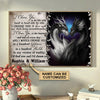 Personalized Dragon I Choose You Poster