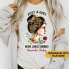 Personalized - Who Loves Books Reading Custom Tshirt