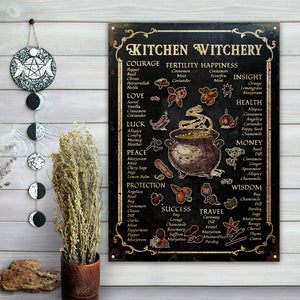 Witch Kitchen Witchery Customized Classic Metal Signs