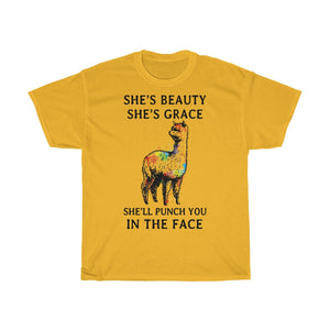 Alpaca Punch you in the face Tshirt