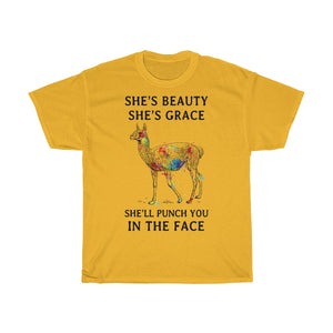 Llama Punch you in the face Tshirt