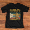 Personalized - Best Friend For Life Yorkshire Terrier Premium Short Sleeve T-Shirt