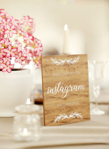 Elegant Modern Wedding Sign    - GlobalWedding