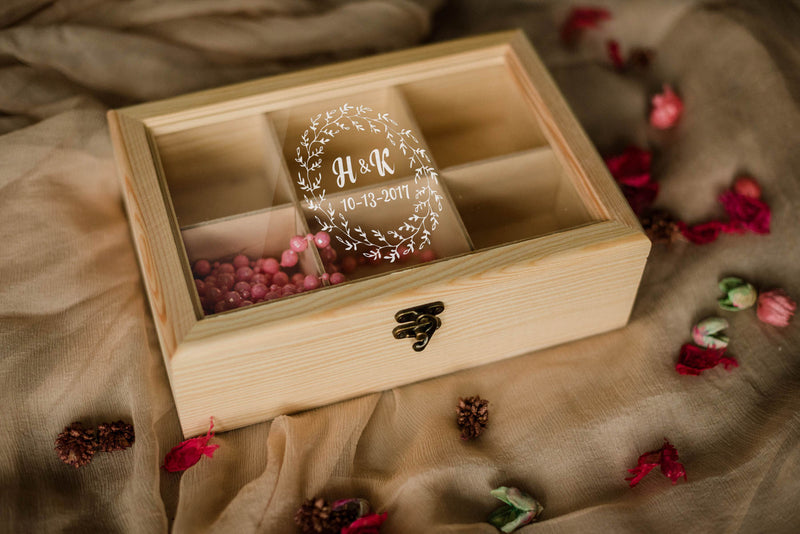 Wood Engraved Handmade Jewelry Box