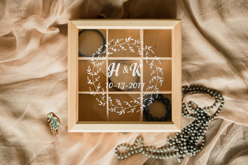 Personalized Decoration Jewelry Box