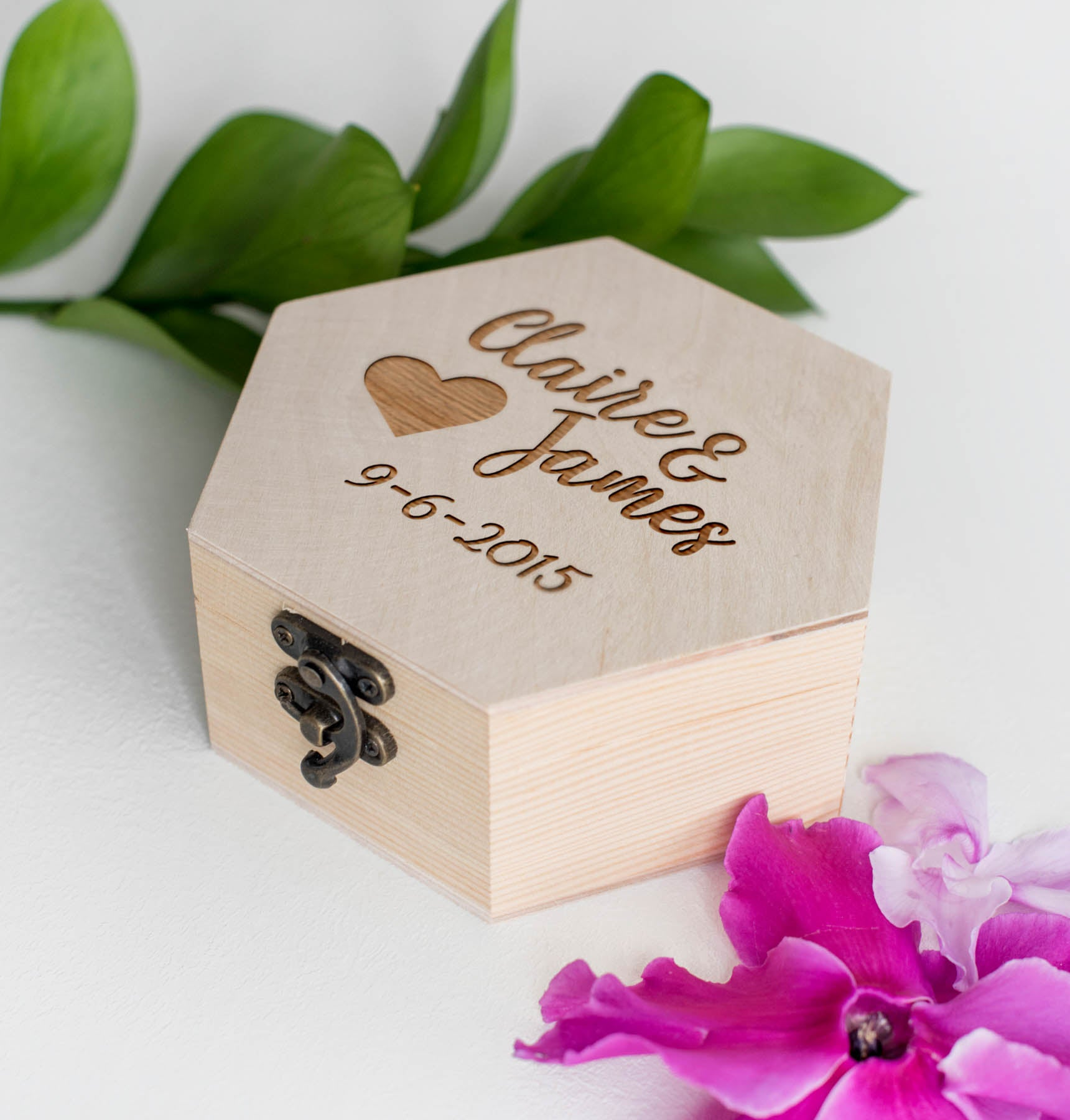 Custom Wood Handmade Jewelry Box    - GlobalWedding