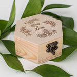 Custom Elegant Jewelry Box    - GlobalWedding