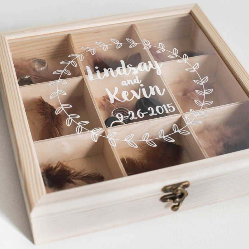 Decoration Unique Wood Jewelry Box    - GlobalWedding