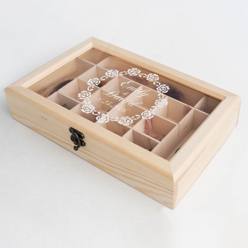Modern Large Vintage Jewelry Box    - GlobalWedding