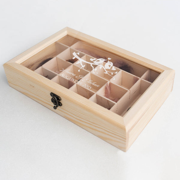 Glass Unique Jewelry Box    - GlobalWedding