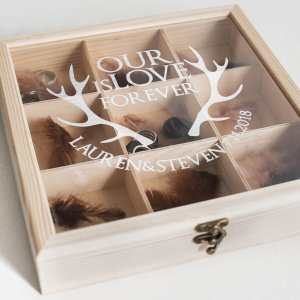 Personalized Unique Jewelry Box